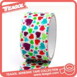 Cinta adhesiva decorativa eléctrica de la impresión del papel de arte, cinta del paño