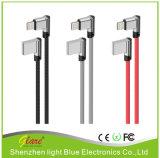 Het Laden van de Kabel USB van de Gegevens van de Vlecht van de Rechte hoek USB 3.1 Kabel