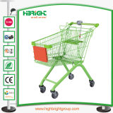 Hyper marché Panier avec les roues Elecator