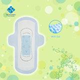 Garnitures sanitaires hypoallergéniques d'Unscented avec le gel Teconology