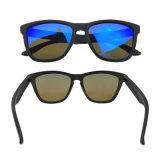 Dernière image de marque des douanes à la main les Lunettes Les lunettes de soleil PC mâle