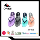 Conception simple mode de vente chaude Lady Flip Flop pantoufles