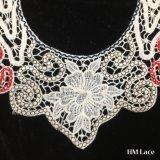 23*50cm Dernière O forme le collier de la dentelle de coton de tissu encolure élégante dentelle Vintage pour banquet robe dentelle collier de couleur de haute qualité de fraisage HM2030