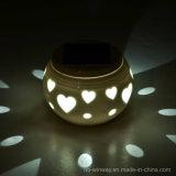 발렌타인 데이 선물을%s 변화 태양 세라믹 램프를 착색하십시오