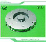 Aluminiummetalllegierung CNC, der LED-Taschenlampen-Teile dreht