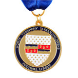 2017 Custom металлические Эми медаль/Milittry медаль с логотипом