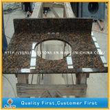 Природного гранита коричневого цвета на крышах зеркала в противосолнечном козырьке в бар, кухня, ванная комната, островных