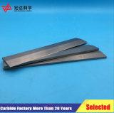 Tiras de alta resistencia del carburo de tungsteno con Yg8