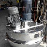 Acier inoxydable industriel inclinant le type bac de Heatign de vapeur avec émulsionner