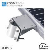 고성능 외부 IP65 50W 옥외 LED 한세트 통합 태양 가로등