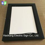 LEDを広告する写真フレームのための屋外のライトボックスは印の表示をつける