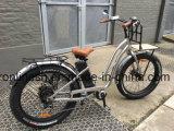 Gummireifen-Fahrrad der Strand-Kreuzer-Dame-250With350With500W elektrisches 26inx4 fettes fettes des Reifen-Pedelec/E/elektrisches fetthaltiges Fahrrad des Schnee-Bike/E/fette elektrische Fahrrad-Vorderseite-Ladung-Zahnstange