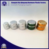 Frascos de creme de cuidados da pele de alumínio