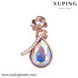 33252 Xuping últimos diseños de los cristales de Swarovski Rosa joyas colgante