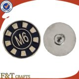 Kundenspezifisches Metallgroßhandelsabzeichen-buntes Reverspin-Decklack-Abzeichen