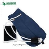 Personnaliser le bleu de grande capacité de football sac à dos Sac avec lacet de serrage