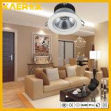 18W projecteurs rotatifs de plafond de l'ÉPI DEL
