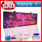 스크린 27X39 인치 방수 풀그릴 두루말기 색깔 SMD 전보국을 광고하는 P10 LED