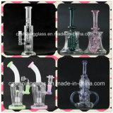 De nieuwe Rokende Waterpijp van het Glas Handblown van het Ontwerp 8inches
