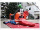 2017 надувной замок прыжком Combo (T1-031 Bouncer Goofy)