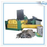 Prensa horizontal automática usada desecho del hierro
