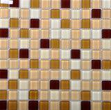 標準的な水晶浴室のガラス壁のタイルのモザイク模様の正方形25X25