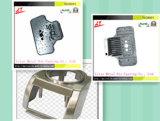 Aluminium Druckguß für helle Unterseite mit Beschichtung