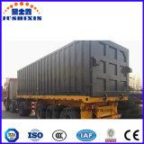 반 3개의 차축 콘테이너 화물 수송기 말뚝 트럭 트레일러