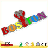 OEM-Бостон Омаров цинкового сплава туристических сувениров холодильник магнита
