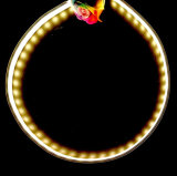 DC12/24V гибкий СВЕТОДИОДНЫЙ ИНДИКАТОР ГАЗА АРБ1806 2216светодиод для поверхностного монтажа газа лампа 60/ 120/180/240/ 300 светодиодов гибкий Неон Flex для украшения LED профиль