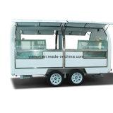 Rimorchio mobile commerciale dell'alimento per il gelato