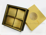 Hot Stamping Color Oro Laminado brillante caja de papel cartón
