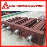 Cilindro do êmbolo hidráulico de alta pressão com a ISO