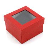 Kundenspezifisches Papier druckte fantastisches Uhr-Geschenk-Verpackungs-Kasten #Watchbox
