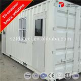 Afrika-niedrige Kosten-vorfabriziertes Behälter-Haus/Porta Kabine für Verkauf