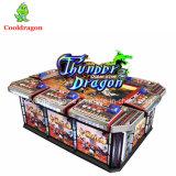 魚のゲーム表の作動する賭ける雷ドラゴンのアーケード釣ゲーム・マシンの硬貨