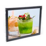 15 pulgadas plana Open Frame Monitor de pantalla táctil LCD de infrarrojos