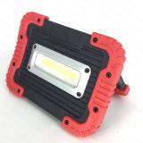 Batterie rechargeable USB en plastique s/n 10W à LED avec la Banque d'alimentation des feux de travail (WL-1065)