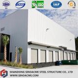 Sinoacmeはプレハブの鉄骨構造の配給倉庫を設計した