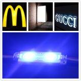 5050 Módulo LED SMD impermeables con lente para letreros de acrílico iluminado/logotipo firmar/caja de luz con garantía de 3 años