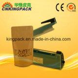 Macchina manuale di sigillamento del sacchetto di impulso del corpo di qualità superiore