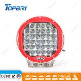luz auto redonda de la conducción de automóviles del CREE LED de 9inch 96W