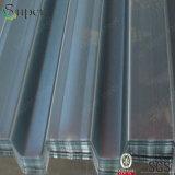 Feuille ondulée galvanisée de Decking d'étage en acier pour des matériaux de construction