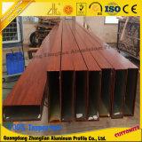 Quadrato vuoto/tubo di alluminio rettangolare per materiale da costruzione