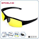 Голубое Linght преграждая солнечные очки напольного спорта