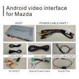 percorso istantaneo di GPS del Android 6.0 dell'automobile 16GB per 14-17 Mazda 2, video interfaccia