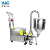 Homogeneizador Em Linha Horizontal sanitário elevado da bomba de mistura de cisalhamento com funil de alimentação