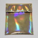 Golden petite poche Sac bordée de carbone
