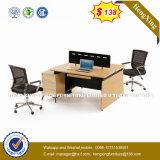 금속 가구 6 시트 사무실 분할 L 모양 워크 스테이션 (HX-8N0340)