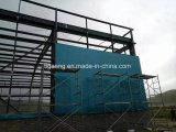 Corte/gimnasio/cancha de básquet grandes prefabricados del balompié de la estructura de acero para Luis portuario